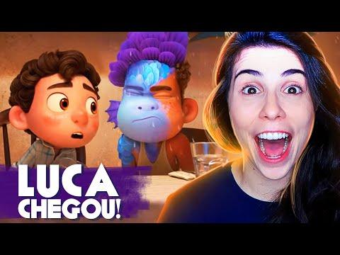 NOVO FILME DA PIXAR É SOBRE IDENTIDADE?! - REAGINDO AO TRAILER DE LUCA!
