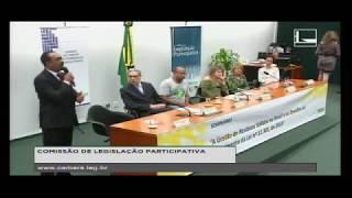 """DR. JOMATELENO NO SEMINÁRIO NA CÂMARA FEDERAL APRESENTANDO O PROGRAMA """"LIXO ZERO SOCIAL DEZ""""."""