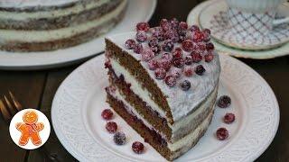 """Торт """"Зимняя сказка"""" очень домашний и вкусный ✧ """"Winter Fairy Tale"""" Cake (English Subtitles)"""