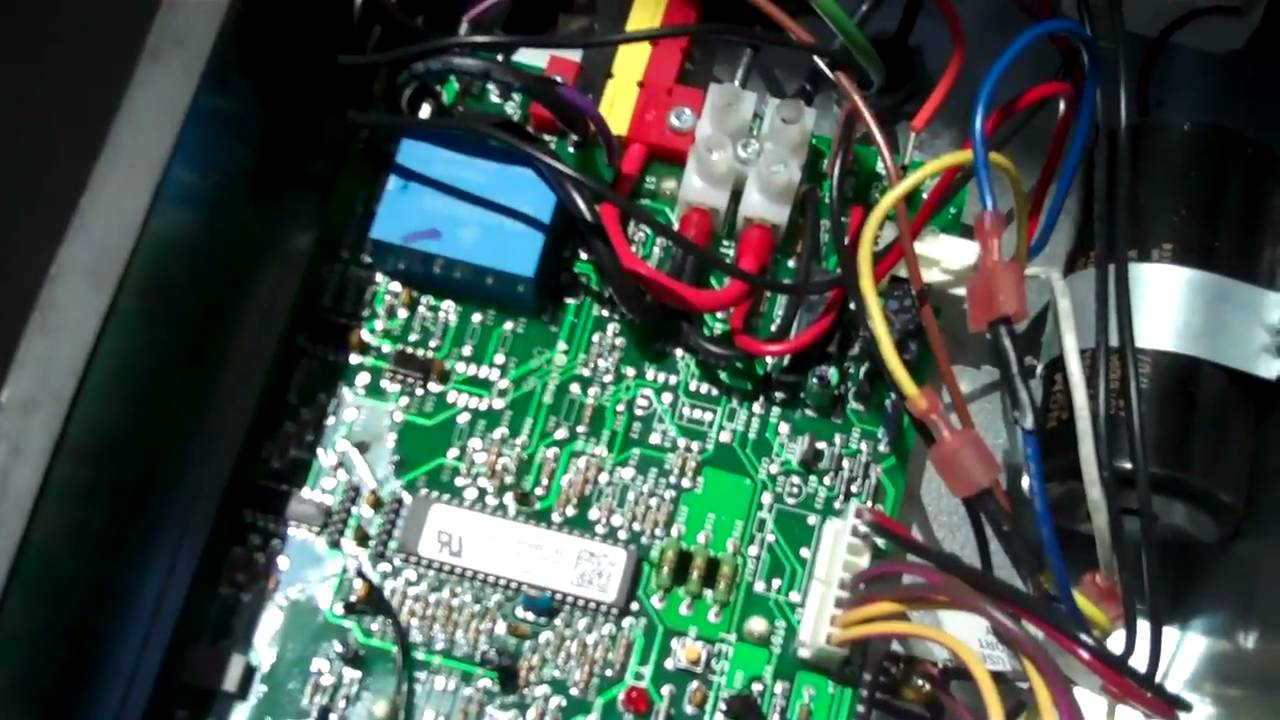 maxresdefault two stage condenser tutorial youtube Central Air Conditioner Wiring Diagram at crackthecode.co