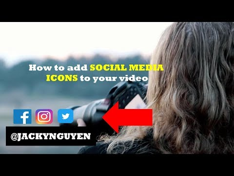How to Add Animated Social Media Icons Into Video