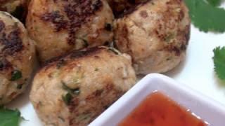 How To Make Thai Chicken Meatballs