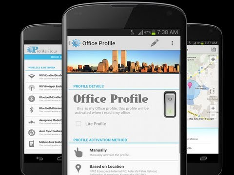 Profile Flow Automates Your Android Phone for Home, Work, or