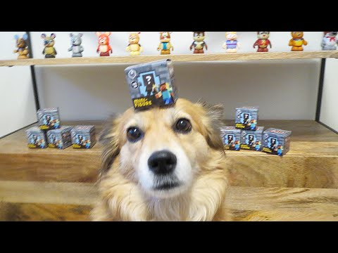 MINECRAFT BLIND BOXES - MONDAY VLOG