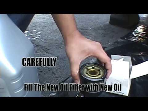 Subaru Impreza Oil Change How To DIY