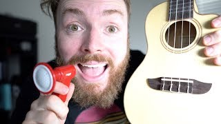 What if Back In Black by ACDC was played on a ukulele and recorded on an iPhone