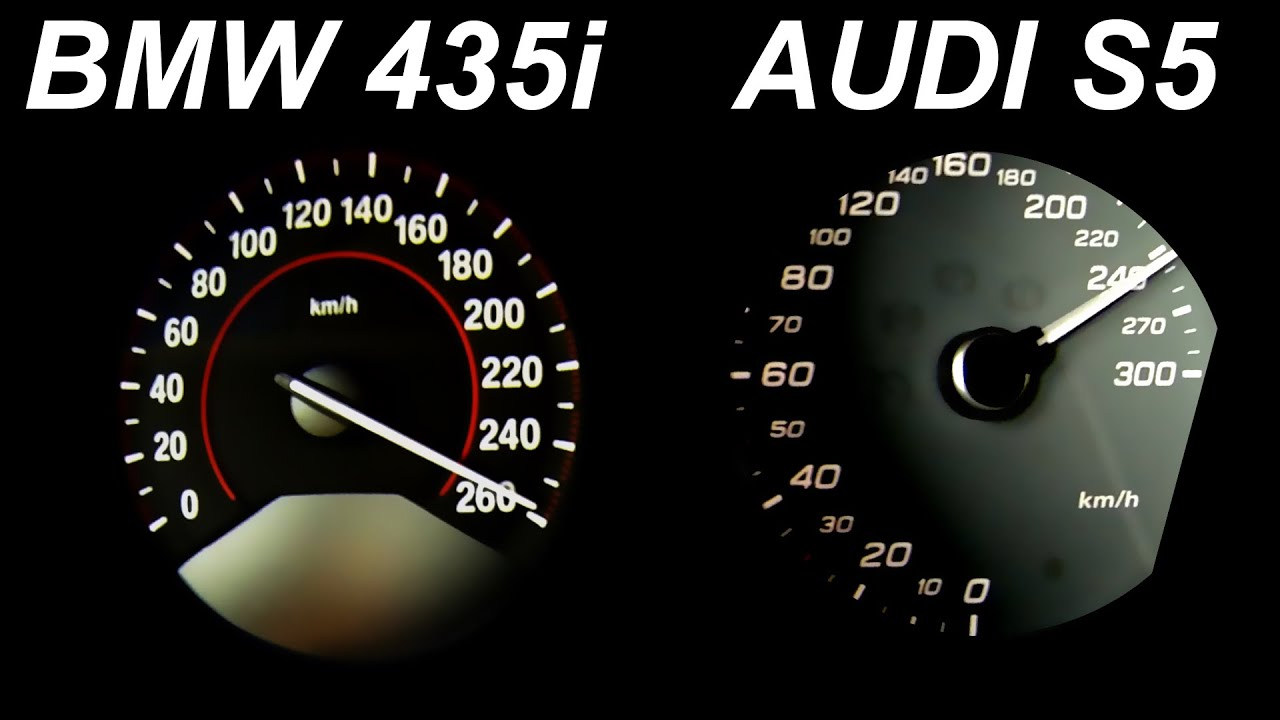 audi s5 vs bmw 435i review acceleration sound onboard autobahn 0 250 test drive youtube. Black Bedroom Furniture Sets. Home Design Ideas