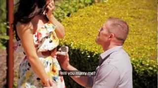 Surprise Wedding Proposal - Napa Valley California