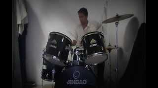 vivo yo y vives tu  alex campos COBER DRUMS
