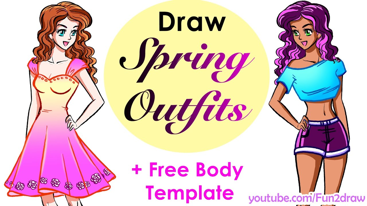 Design Yourself Cute Crop Top Pretty Dress How To Draw Easy