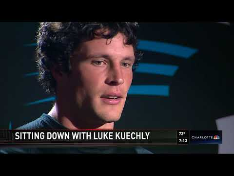 Kelsey Riggs- Sitdown with Panthers linebacker Luke Kuechly