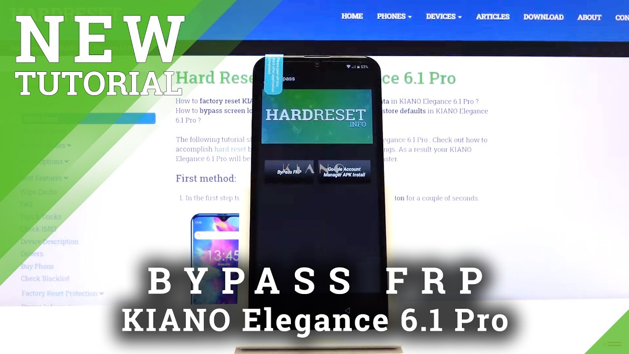 How To Skip Frp In Kiano Elegance 6 1 Pro Bypass Google Verification Youtube