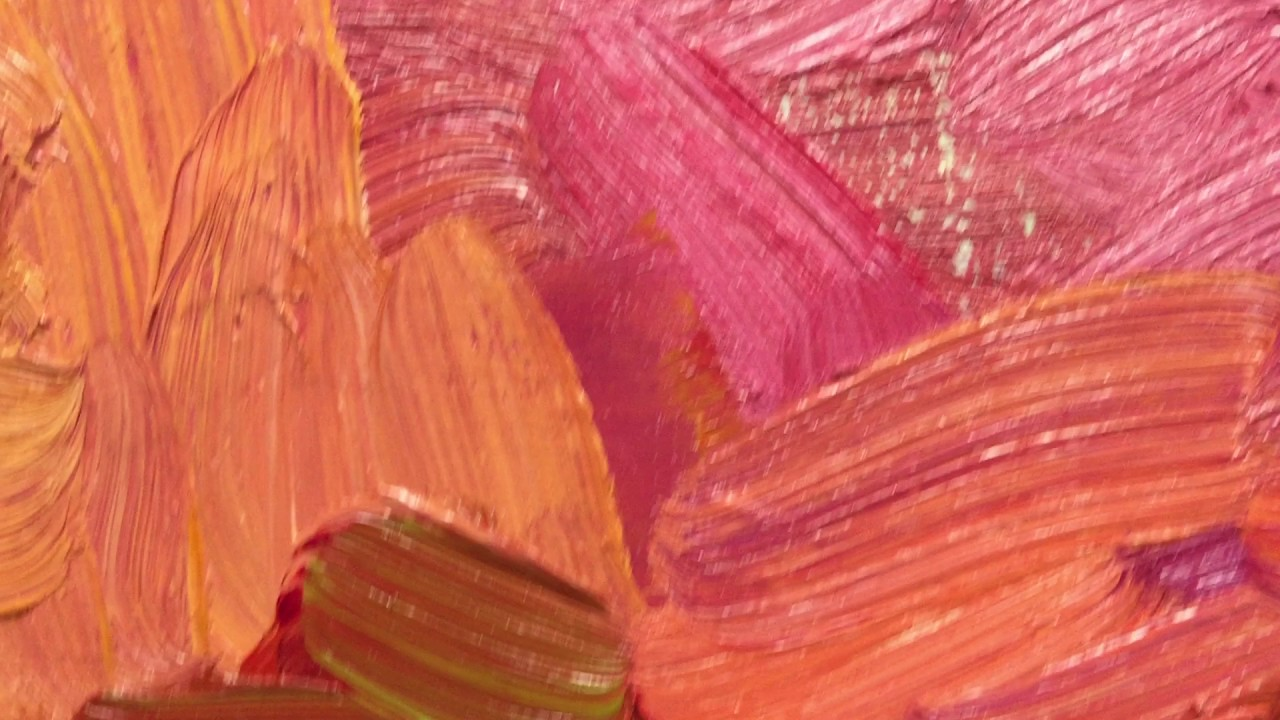 oil painting texture and brushwork detail youtube