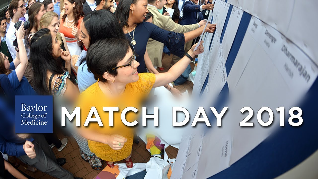 Match Day 2018 at Baylor College of Medicine