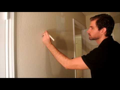 how to find wood studs behind drywall
