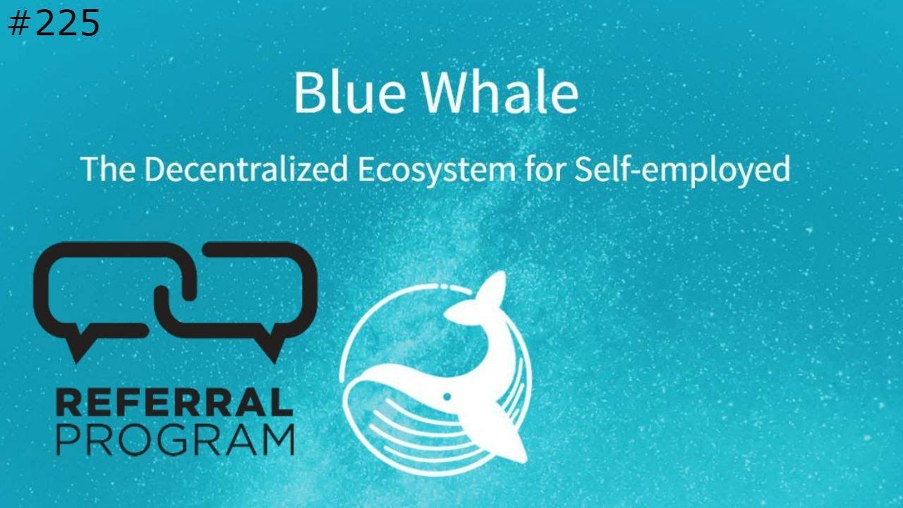 Blue Whale Referral Program - Daily Deals: #225