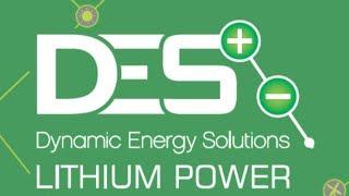 DES Lithium Power TORO MDE 48V lithium batteries getting an audit. www.dynamicenergysolutions.net