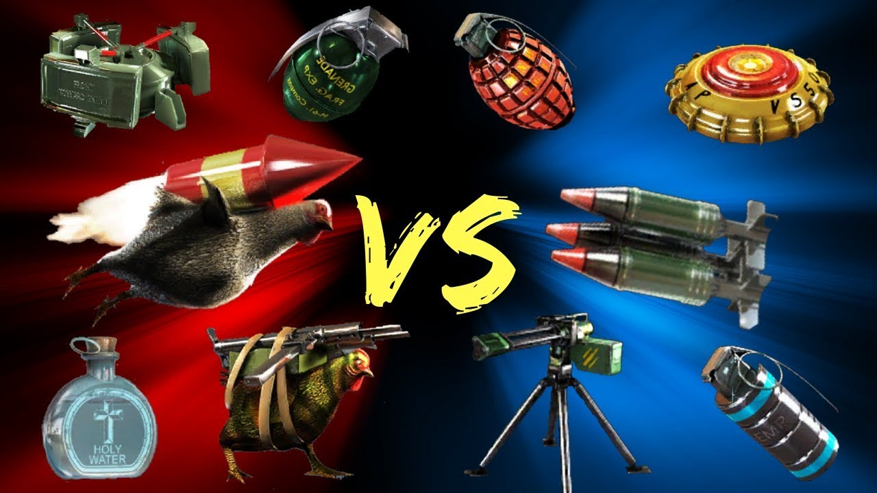 Dead Trigger 2 Vs Unkilled All Items Youtube