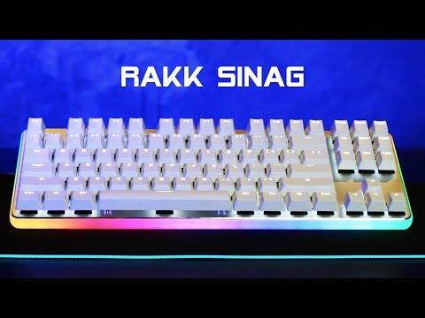 RAKK SINAG (Cherry MX Blue) Unboxing & Review
