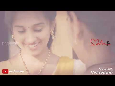 Cute Love Scene With Chella Katte Chollu Song | Latest Whatsapp Status