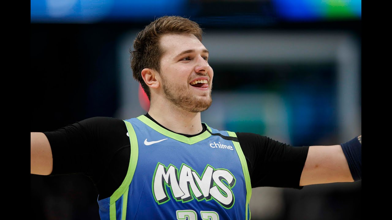 Luka Doncic Hits Career-High 8 3-Pointers In 35-Point Takeover vs. Blazers