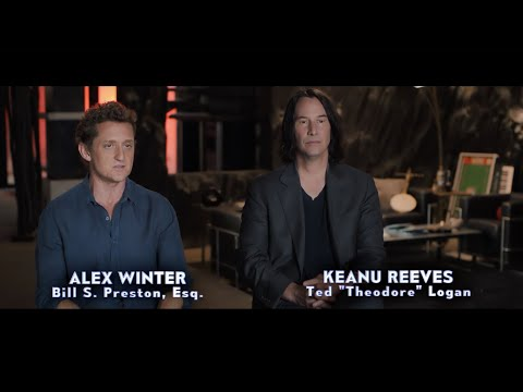BILL & TED FACE THE MUSIC: Behind the Scenes - Be Excellent To Each Other