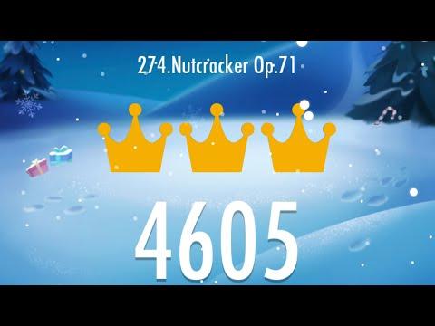 Piano Tiles 2 - Nutcracker Op.71 4605 score, LEGENDARY World Record!!!