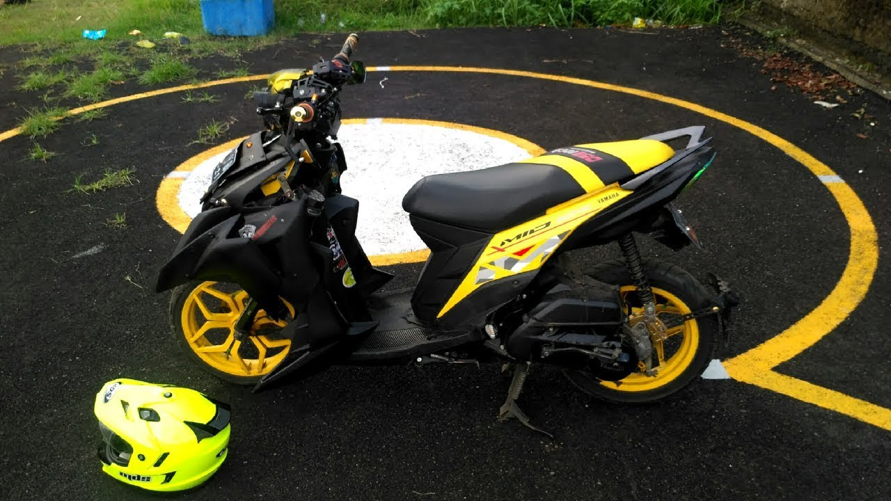 Modifikasi Mio Street Fighter Aliranmodif