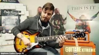 Guitare Xtreme Magazine #77 - Epiphone Casino Coupe VS