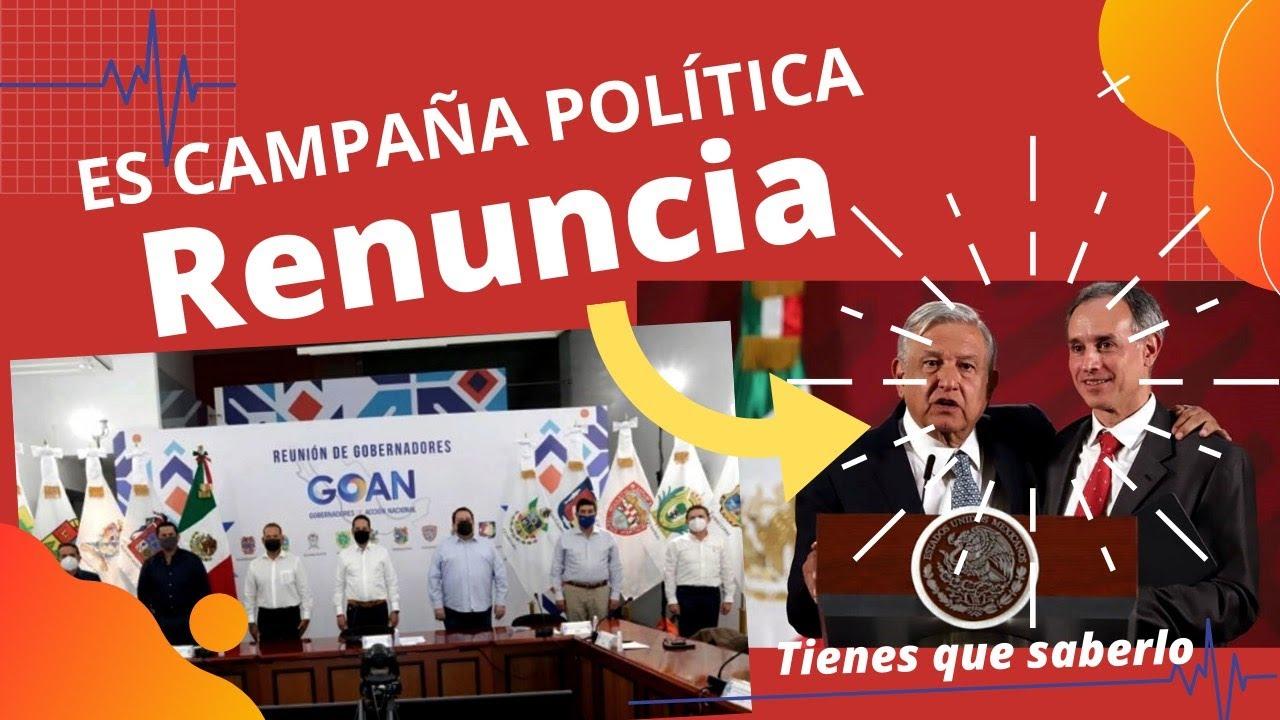 PAN, PRD y MC, BOA, FRENAA piden Renuncia de Alcocer y Gatell; Es campaña política