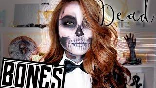 LAST MINUTE Halloween Make Up (Skull Face) Pa...