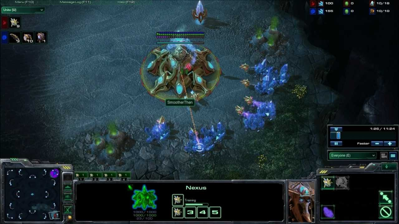 StarCraft 2 Zerg vs Protoss Strategy