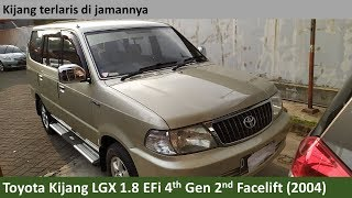 Toyota Kijang LGX 1.8 EFi 2nd Facelift (2004) review - Indonesia