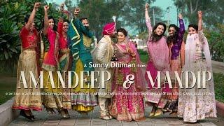 AMANDEEP & MANDIP 2017 | Fairytale Sikh Wedding In Punjab | Sunny Dhiman Photography