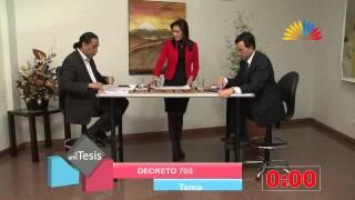 Tesis y Antitesis - Programa 84 - Decreto 703