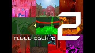 Roblox Flood Escape 2 (Test Map) - Multiplayer Compilation 10