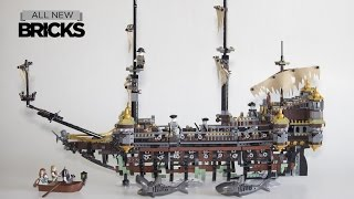 Lego Pirates of the Caribbean 71042 Silent Mary Speed Build