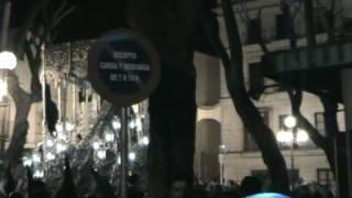Virgen de la Paz y Aflicción en Plaza de la Yerba 2009