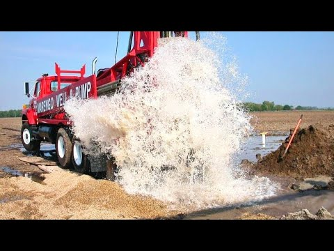 Borewell Drilling 50 फिट में फुल पानी Amazing Live Full Video in CG Raipur