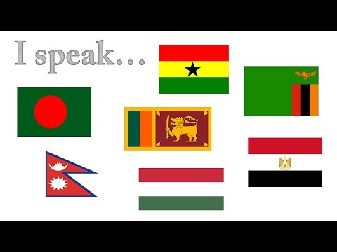Language Profiles from Africa, Europe and South Asia