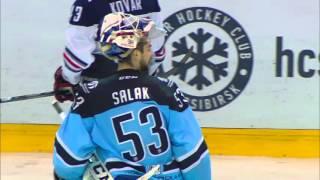 Mozyakin scores GWG as Sibir rebelling against Ref's decision