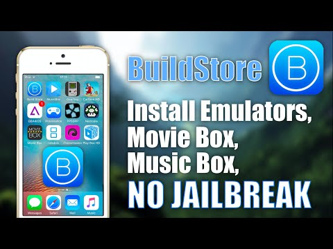 BuildStore: Install Emulators, Movie Box    NO JAILBREAK on