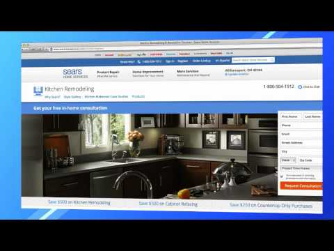 Home Renovations with Sears Home Services: Bathroom and Kitchen Remodeling
