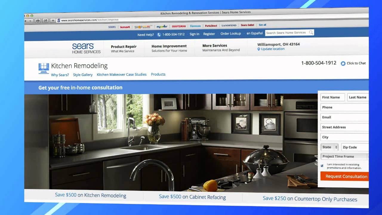 Home Renovations With Sears Home Services: Bathroom And Kitchen Remodeling    YouTube