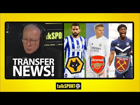 TRANSFER NEWS! The latest on potential deals for Willian Jose to Wolves, Odegaard to Arsenal & more!
