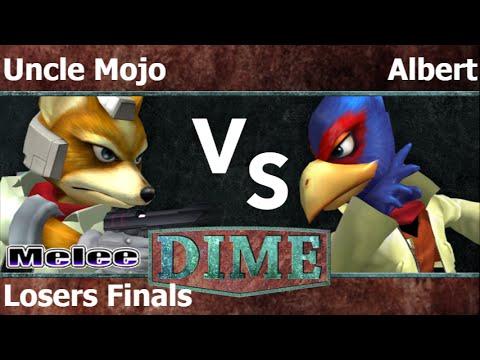 DIME 19 - SU   Uncle Mojo (Fox) vs FX   Albert (Falco) Losers Finals - Melee