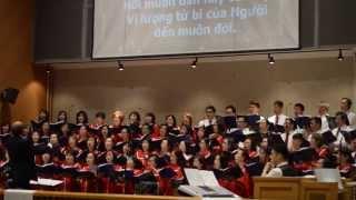 Vọng Phục Sinh 2015 - Hãy Cảm Tạ Thiên Chúa - Liên Ca Đoàn Thánh Linh Fountain Valley