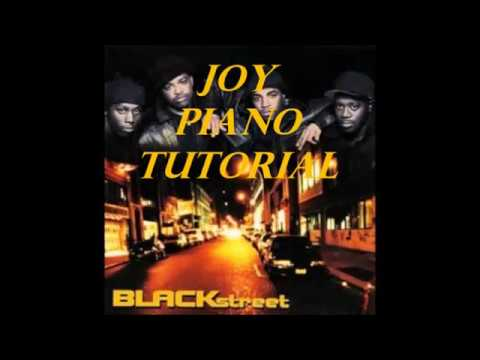 How to Play Joy by Blackstreet on Piano