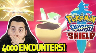 MY LONGEST HUNT YET! SHINY WINGULL and SHINY PELIPPER in Pokemon Sword and Shield!