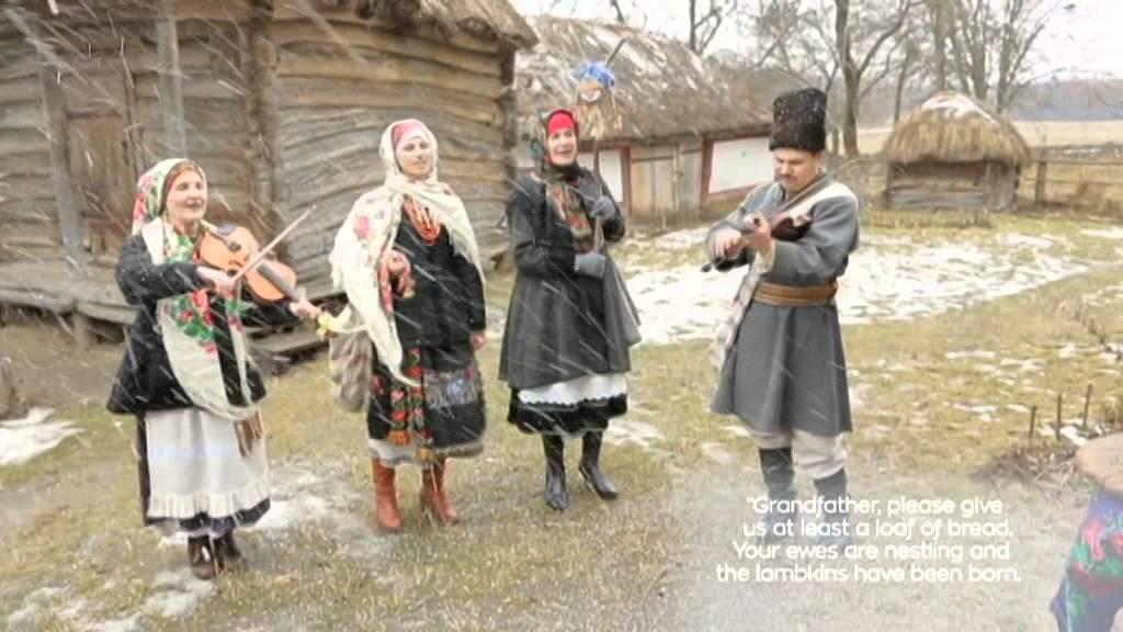 Merry Christmas from Ukraine Today! Traditional Ukrainian festive ...